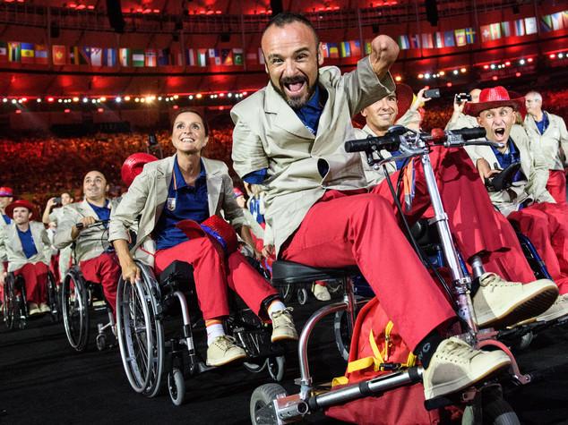 Cerimonia di apertura acrobatica alle Paralimpiadi. Domani esordio di Morlacchi