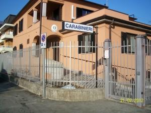 La Stazione dei Carabinieri di Cuvio