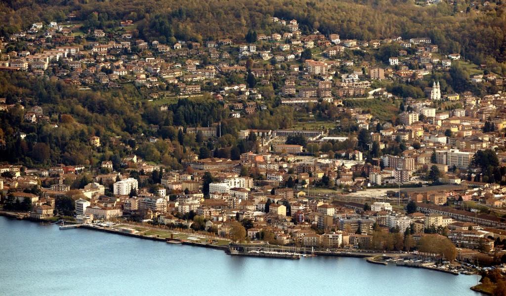 Un panorama di Luino (Foto © Giancarlo Onnis)