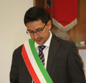 Il neo sindaco di Germignaga, Marco Fazio (facebook.com)