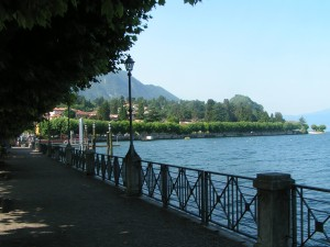 Il lungolago di Porto Valtravaglia (facebook.com)