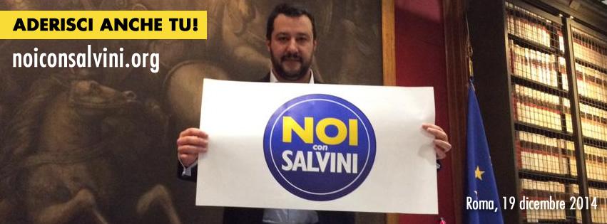 """""""Noi con Salvini"""", presentato il simbolo per il Sud (facebook.com)"""