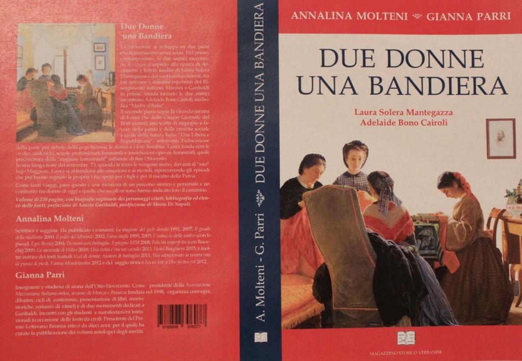 """Imbarcadero, Luino : sabato 21 la presentazione del libro """"Due donne. Una bandiera"""""""