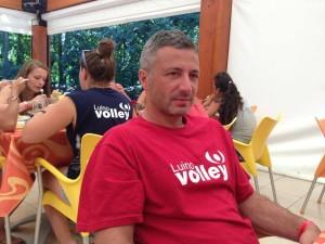 Il Presidente della Luino Volley, Roberto Cagliani