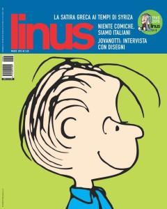 """La copertina di marzo 2015 di """"linus"""" (facebook.com)"""
