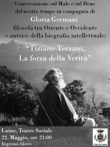 """Gloria Germani """"Tiziano Terzani: La forza della Verità"""" (facebook.com)"""