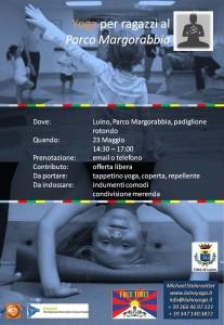 Luino-Yoga: sabato 23 maggio dalle 14.30 Michael Steinroetter incontra i giovani al Parco Margorabbia
