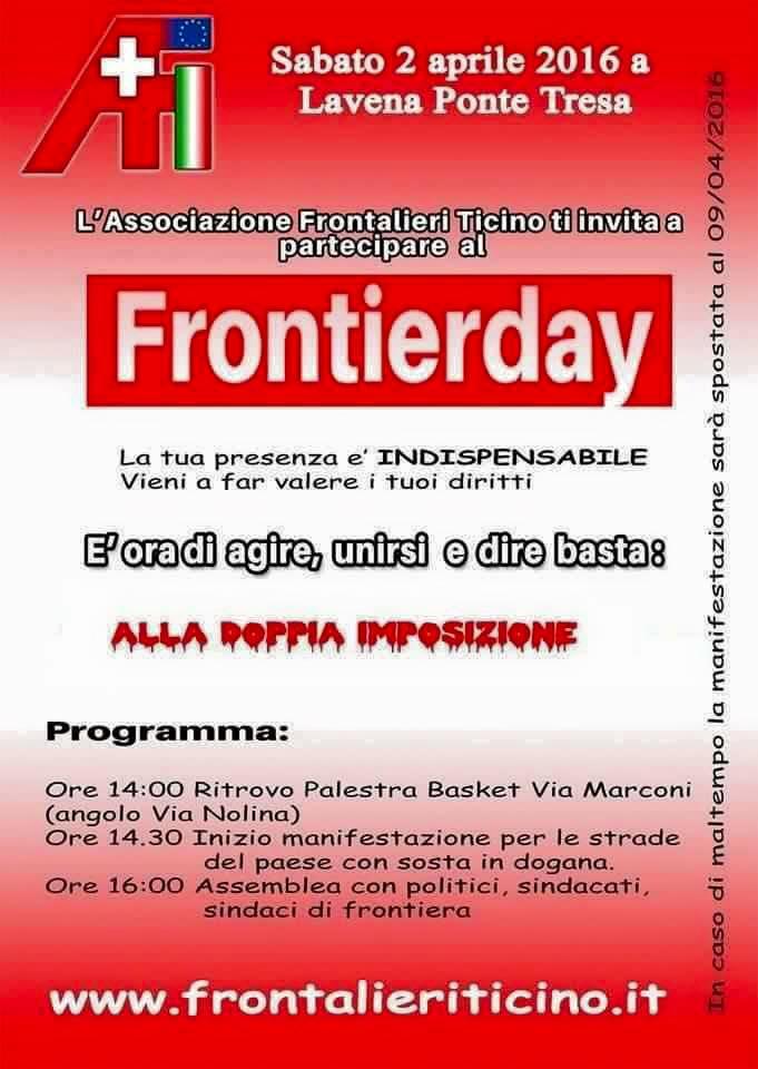 """Tra rappresentanza e delega, tutti i giusti motivi per partecipare al """"Frontierday"""" di sabato 2 aprile"""