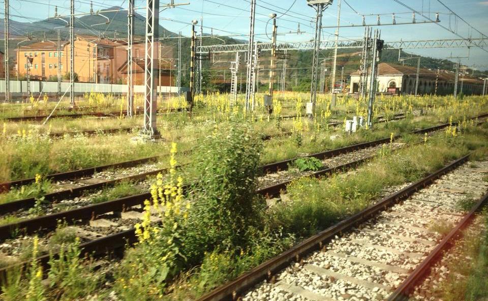 Le foto scattate ieri alla stazione ferroviaria di Luino (Foto © Enzo Baccheschi)
