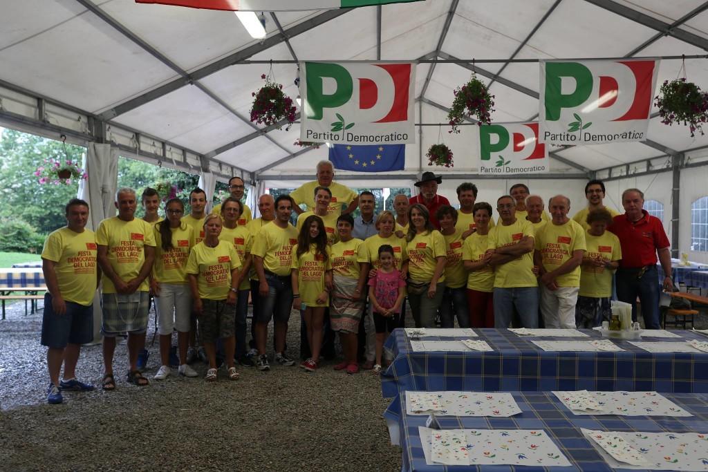 Una foto della scorsa edizione dalla Pagina Facebook Festa Unità del Lago