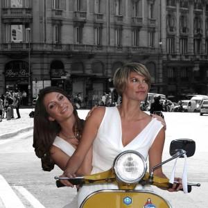 "Lavinia Lalle e Sarah Mataloni, protagoniste de ""L'Eco dei Sampietrini"" (facebook.com)"