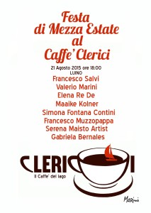"""Festa di mezza Estate"" al Caffè Clerici"