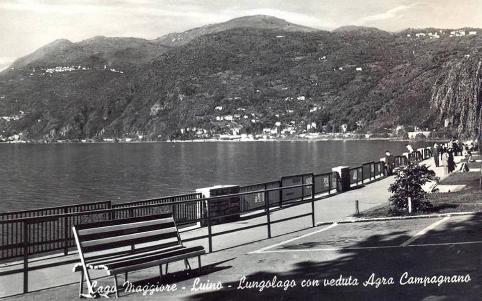 Il lungolago di Luino (Foto Facebook.com - pubblicata dal profilo Giovanni Saturnino Anna Quarto)