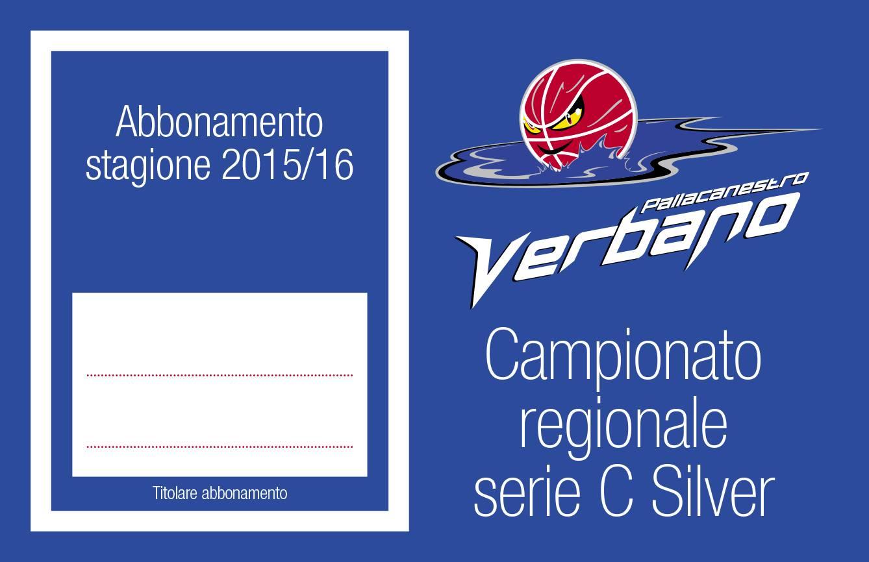 L'abbonamento per la stagione 2015/2016 della PVL