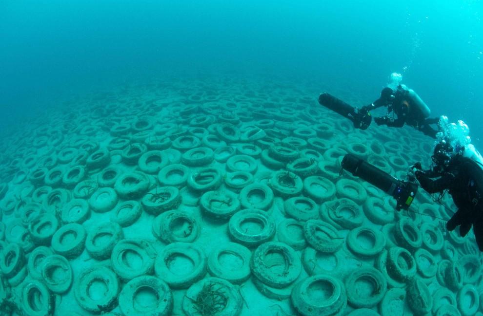 Il disastro ambientale al largo della Florida (Foto IberPress)
