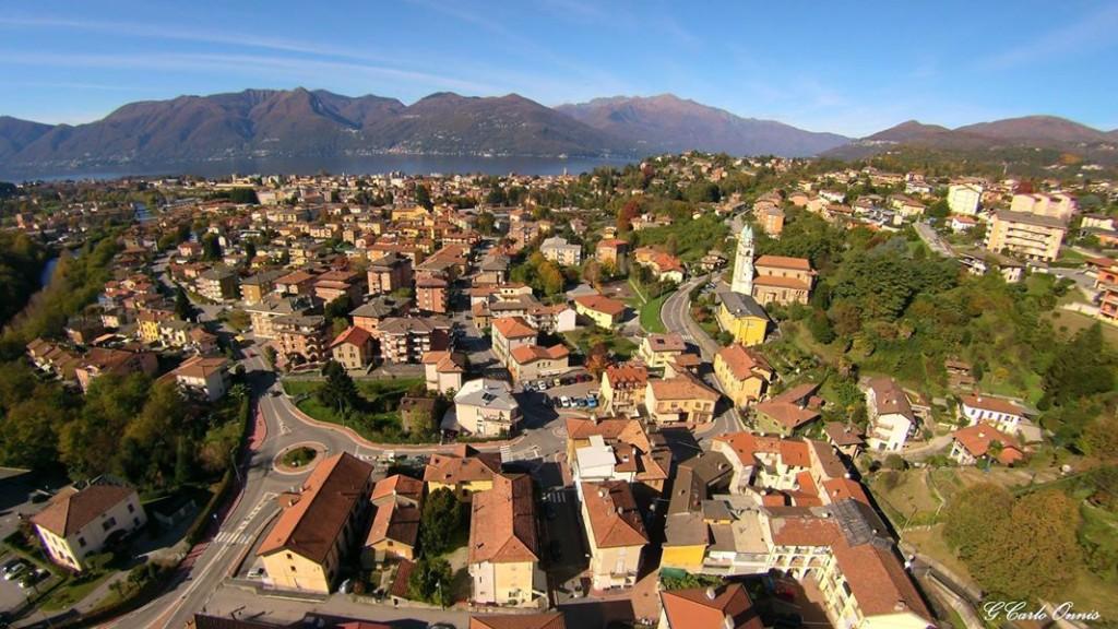Panorama su Luino dalla frazione di Creva (Foto © Giancarlo Onnis)