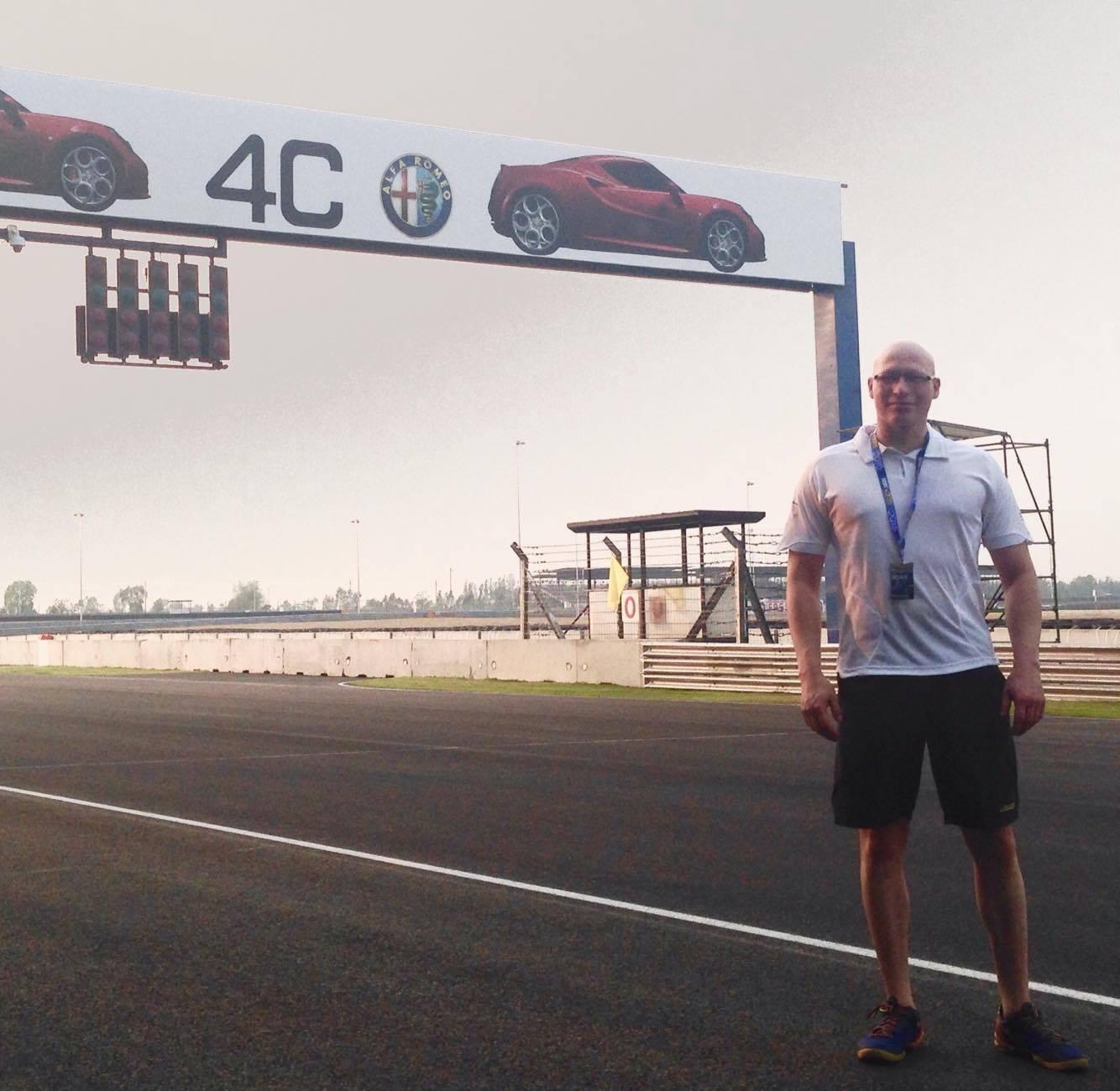 """Intervista a Matteo Rocca: da Luino alla """"Clinica Mobile"""" nel Mondiale Superbike"""