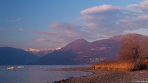 La siccità sul lago Maggiore (Foto © Isella Belotti)