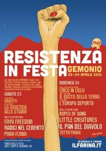 """Il 23 e 24 aprile torna a Gemonio """"Resistenza in Festa"""". Ecco il programma"""