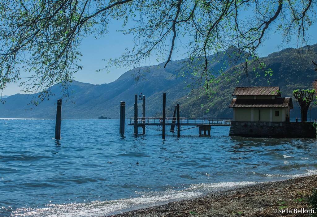 Foto del giorno: il lungolago di Maccagno, immortalato da Isella Bellotti