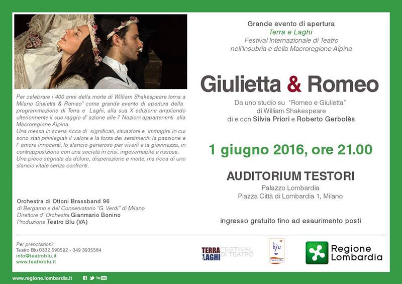 """Presentata la X edizione del Festival """"Terra e Laghi"""", domani sera il debutto all'Auditorium Testori di Milano"""