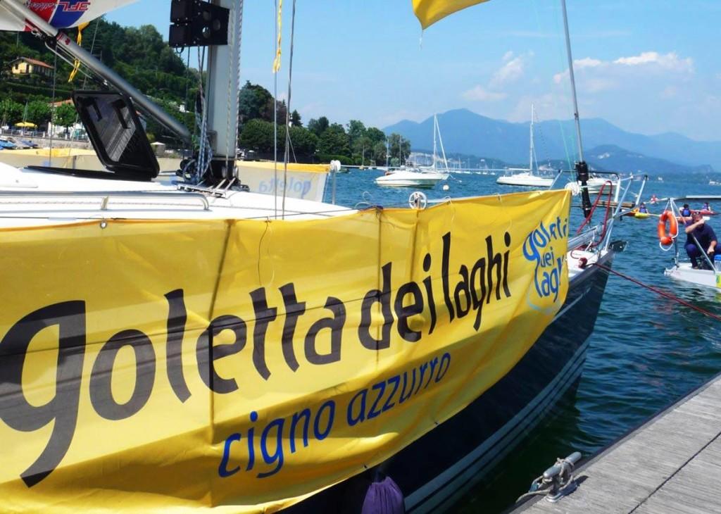 """Lavena Ponte Tresa, la """"Goletta dei laghi"""" di Legambiente sbarca sul Ceresio. Giovedì saranno svelati i dati"""