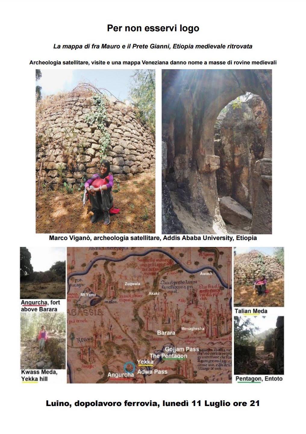 Luino, questa sera alle 21 un viaggio dell'archeologia etiope