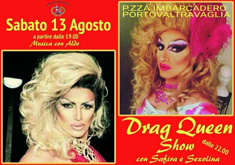 """Sabato sera il """"Drag Queen Show"""""""