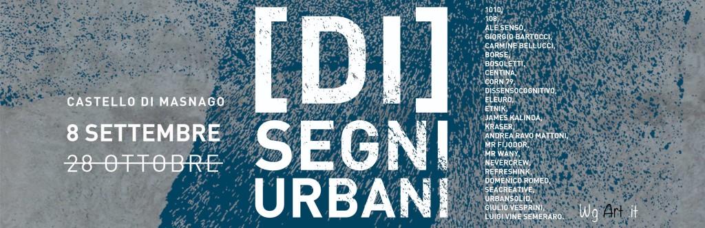 """Dall'8 settembre la mostra """"[DI]SEGNI URBANI"""" al Castello di Masnago: l'arte di strada in museo"""