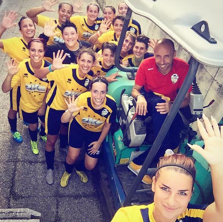 Calcio femminile, l'Alto Verbano espugna Lesmo ed è a punteggio pieno. Doppietta di Gippini