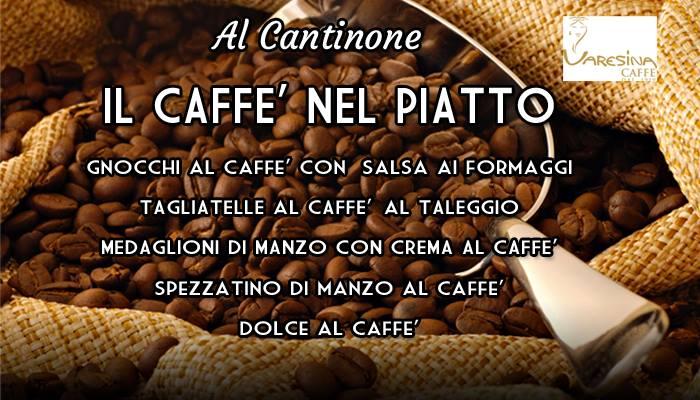 Dalla tazzina al piatto, il caffè alla conquista della cucina anche a Luino