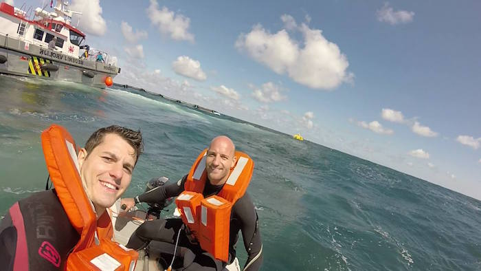 """Luinesi all'estero"": Roberto Brambini in Olanda nel team di ingegneri di ""The Ocean Cleanup"""