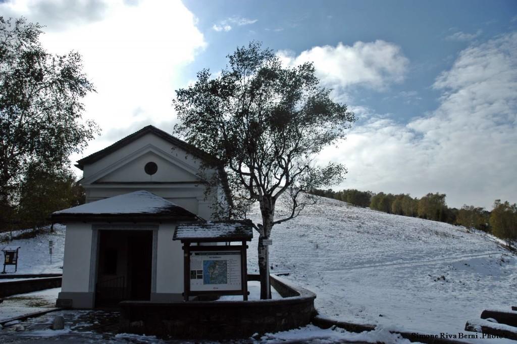 Le prima neve in Forcora, le foto di Simone Riva Berni