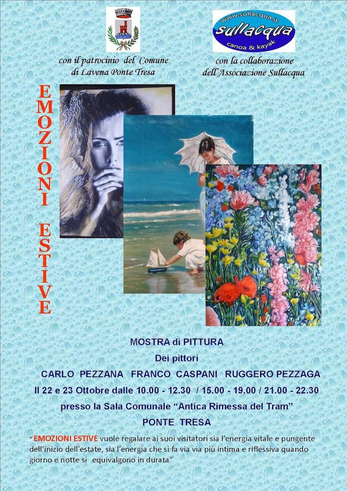 "Lavena Ponte Tresa, nel weekend in mostra i vissuti legati alle ""Emozioni estive"""