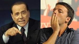 I due protagonisti della potenziale alleanza tra Pd-FI sulla riforma elettorale, Berlusconi e Renzi (formiche.net)