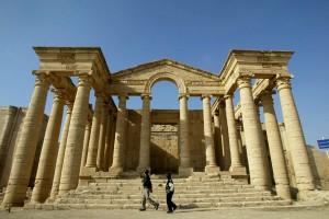 Il tempio storico nella storica città di Hatra (nbcnews.com)