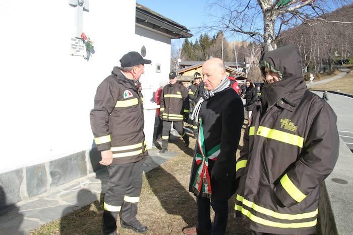 Forcora: l'omaggio a Luciano Pettik, Vigile del Fuoco vittima dell'incendio del capodanno 1981
