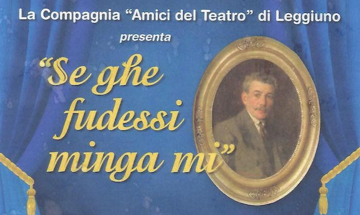 """Monvalle: """"Se ghe fudessi minga mi"""", un pomeriggio tra teatro e solidarietà"""