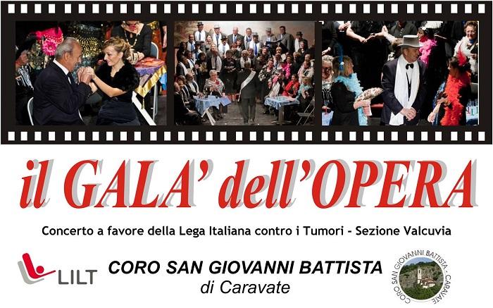 """A Cuveglio, il """"Galà dell'Opera"""" a favore della Lega Italiana contro i Tumori"""