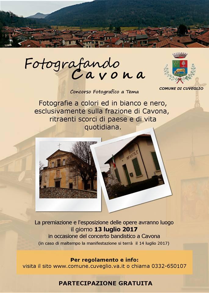 """Cuveglio, """"Fotografando Cavona"""": protagonista del concorso il territorio"""