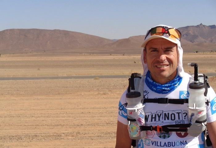 """Marathon des Sables"", eroico Mario Paonessa: da Lavena Ponte Tresa alla conquista del deserto"