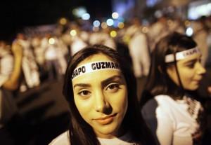 """Le proteste messicane pro """"El Chapo"""" (repubblica.it)"""