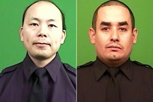 I due poliziotti uccisi a New York (nypost.com)