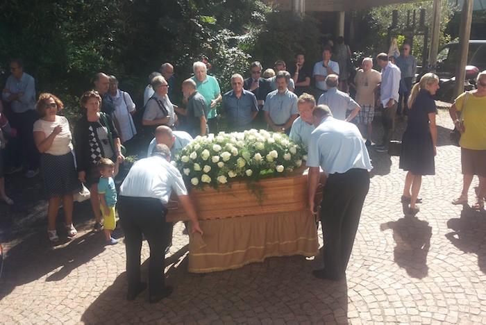 Luino, stamane l'addio a Piera Corsini. Il ricordo di Pierangelo Frigerio