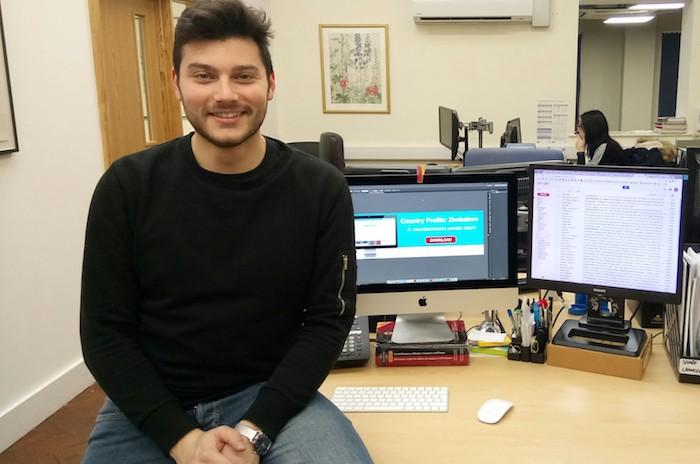 """""""Luinesi all'estero"""", Dario Caputo da tre anni a Londra tra marketing e finanza"""