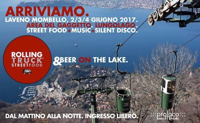 """Sul lungolago di Laveno Mombello nel weekend arriva il """"Rolling Truck Street Food"""""""