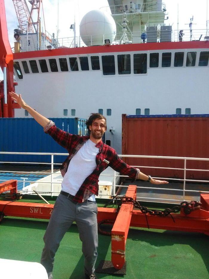 Il luinese Zanatta in partenza per la Norvegia per studiare il drastico scioglimento dell'Artico