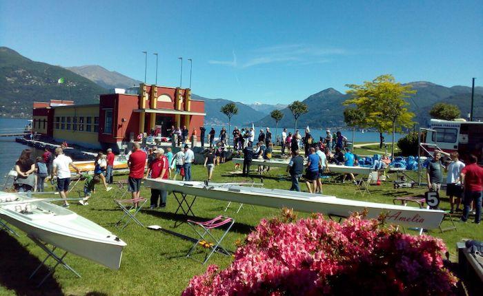 Grande festa a Germignaga per la Canottieri: ai bianconeri 5 ori, un argento e due bronzi