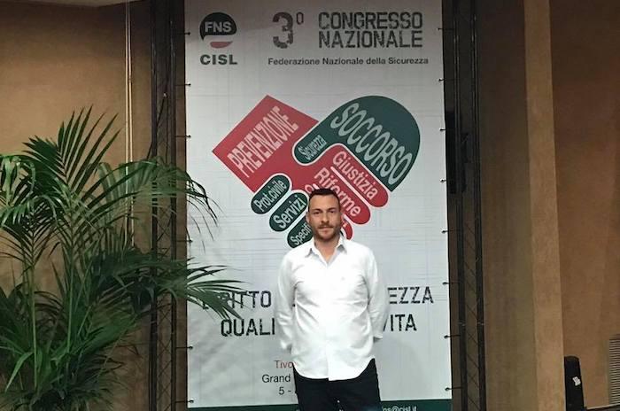 """Il Vigili del Fuoco luinese Massimo Isgrò eletto consigliere nazionale della FNS CISL: """"Per me un onore"""""""