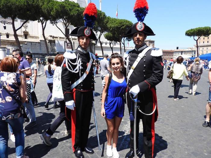 La giovane Siria Nigro e l'importante significato della partecipazione alla parata del 2 giugno
